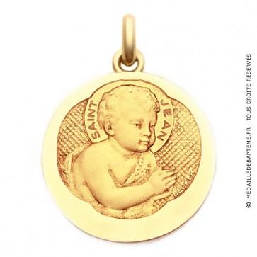 Médaille Saint Jean  - medaillle bapteme Becker