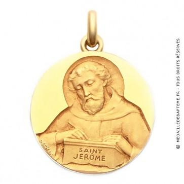 Médaille Saint Jérôme  - medaillle bapteme Becker