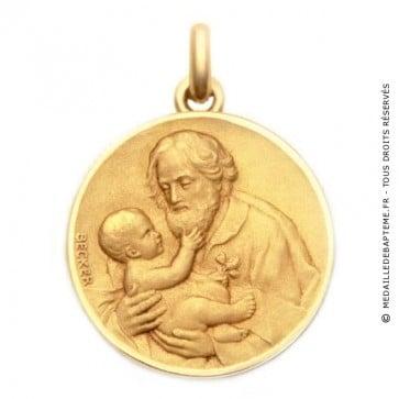Médaille Saint Joseph  - medaillle bapteme Becker