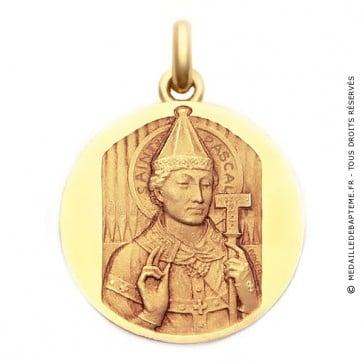 Médaille Saint Pascal  - medaillle bapteme Becker