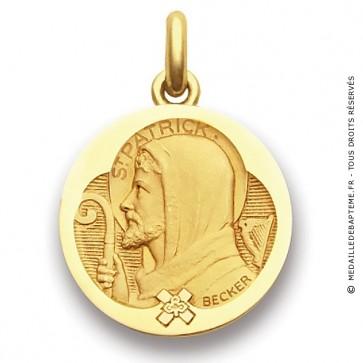 Médaille Saint Patrick  - medaillle bapteme Becker