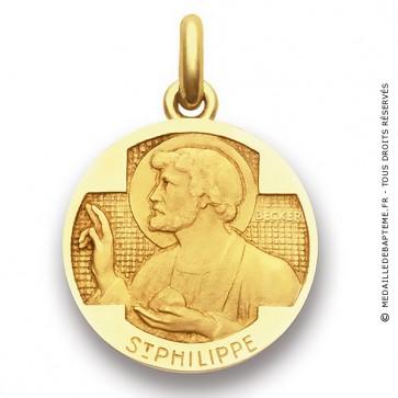 Médaille Saint Philippe  - medaillle bapteme Becker