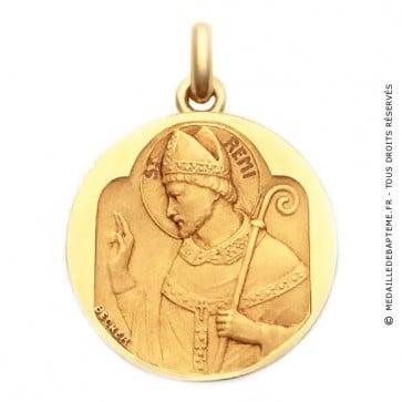 Médaille Saint Rémi  - medaillle bapteme Becker
