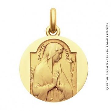Médaille Sainte Aude  - medaillle bapteme Becker