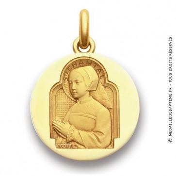 Médaille Sainte Chantal - medaillle bapteme Becker