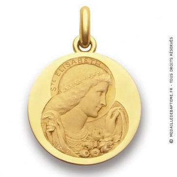 Médaille Sainte Elisabeth  - medaillle bapteme Becker