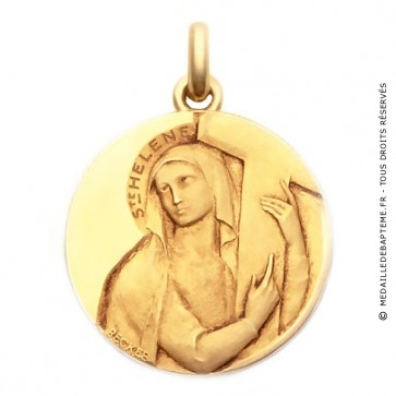 Médaille Sainte Hélène  - medaillle bapteme Becker