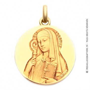 Médaille Sainte Isabelle  - medaillle bapteme Becker
