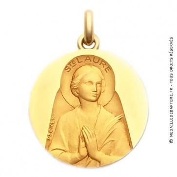 Médaille Sainte Laure  - medaillle bapteme Becker