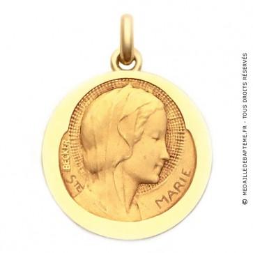 Médaille Sainte Marie  - medaillle bapteme Becker