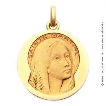 Médaille Sainte Martine  - medaillle bapteme Becker