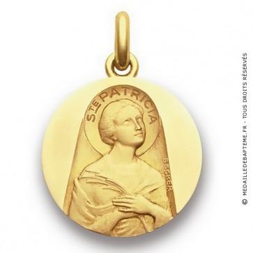 Médaille Sainte Patricia  - medaillle bapteme Becker