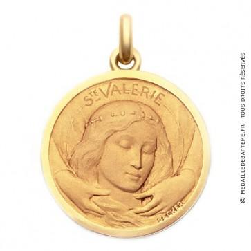 Médaille Sainte Valérie  - medaillle bapteme Becker