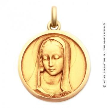 Médaille Santa Madona  - medaillle bapteme Becker