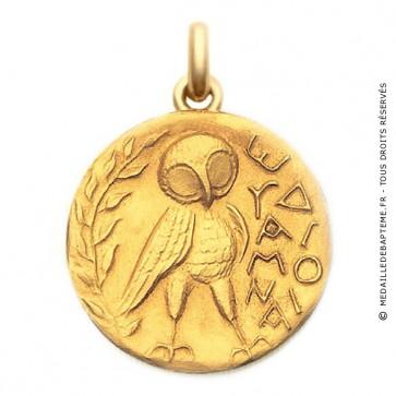 Médaille Sceau Athénien  - medaillle bapteme Becker