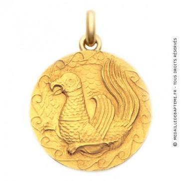 Médaille Sceau Persan  - medaillle bapteme Becker