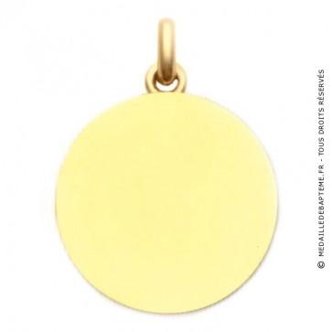 Médaille Unie Polie  - medaillle bapteme Becker