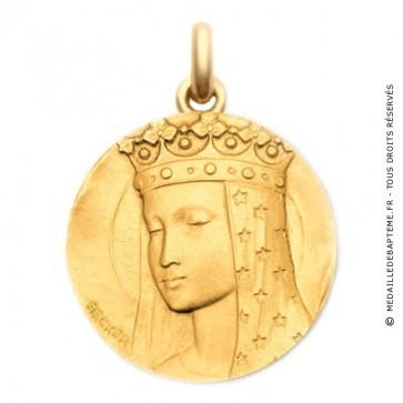 Médaille Vierge aux Etoiles - medaillle bapteme Becker