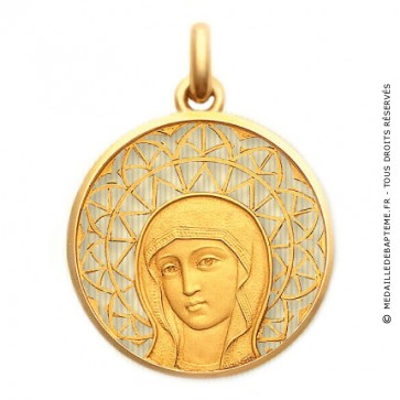 Médaille Vierge Byzantine  - medaillle bapteme Becker