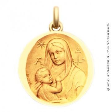 Médaille Vierge Catacombes  - medaillle bapteme Becker