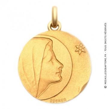 Médaille Vierge de Bethléem  - medaillle bapteme Becker