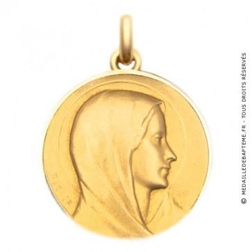 Médaille Vierge de l'Annonciation  - medaillle bapteme Becker