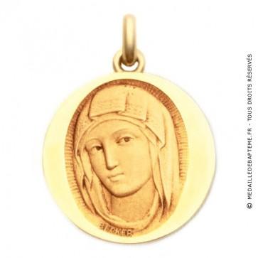 Médaille Vierge de Sienne  - medaillle bapteme Becker