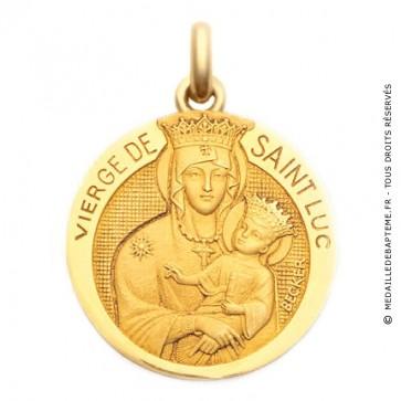 Médaille Vierge de St Luc  - medaillle bapteme Becker