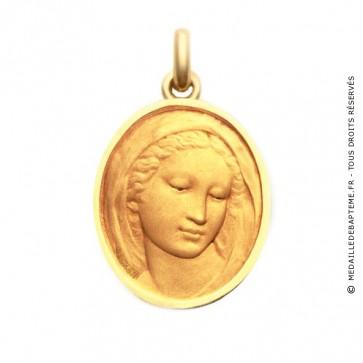 Médaille Vierge Florentine  - medaillle bapteme Becker