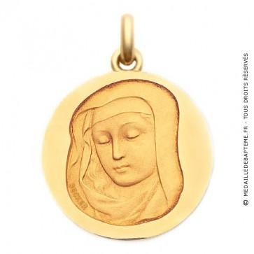 Médaille Vierge Médiévale  - medaillle bapteme Becker