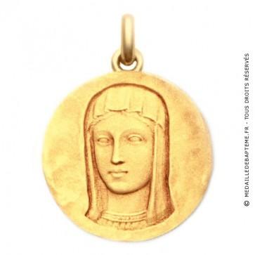 Médaille Vierge Romane  - medaillle bapteme Becker
