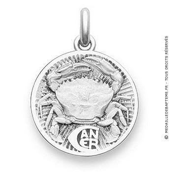 Médaille Zodiaque Cancer BECKER ( argent)