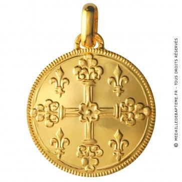 Médaille Croix de Saint Louis (Or Jaune)