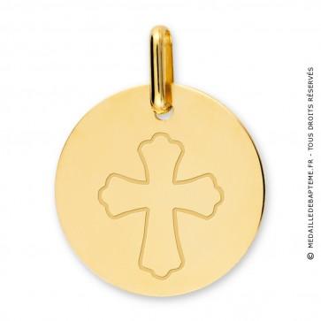 Médaille croix (Or Jaune)