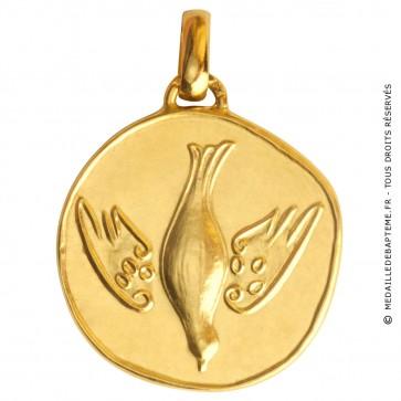 Médaille de Communion (Or Jaune)