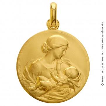 Médaille de la Maternite (Or Jaune)