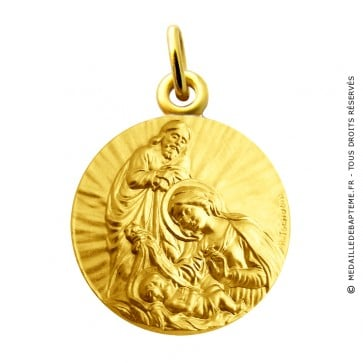 Médaille de la Nativité Martineau (Or Jaune)