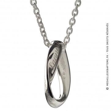 Médaille Infinitude (anneau de moebius) (Argent)