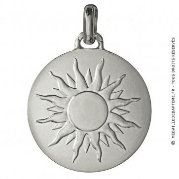 Médaille je brillerai comme un soleil (argent)