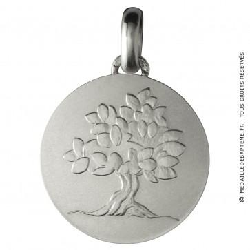 Médaille je grandirai comme un arbre (argent)