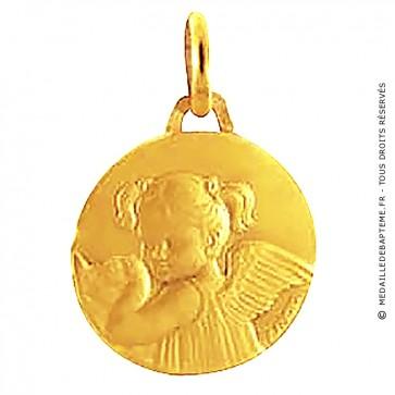 Médaille Les loupiots fille (Or Jaune)