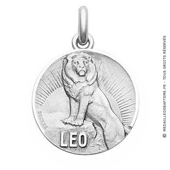 Médaille Zodiaque Lion BECKER ( argent)