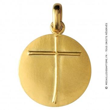 Médaille Lumière d'en haut (Or Jaune)