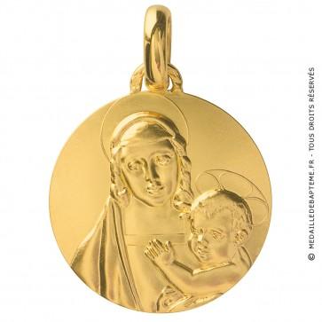 Médaille Madone du Grand Duc (Or Jaune)