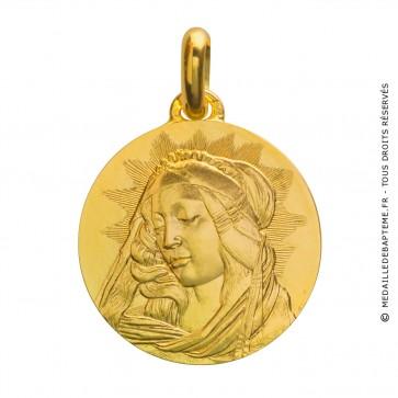 Médaille Madone du Magnificat (Or Jaune)