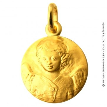 Médaille Ange au chandail (or jaune)