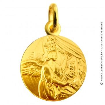 Médaille Ange et l'Enfant (or jaune)