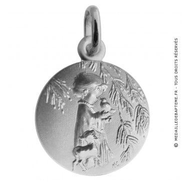 Médaille Ange à l'oiseau (Argent)