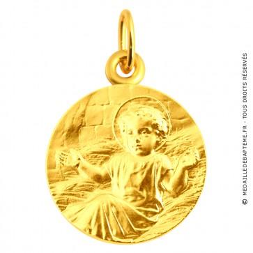 Médaille Enfant Jésus (or jaune)
