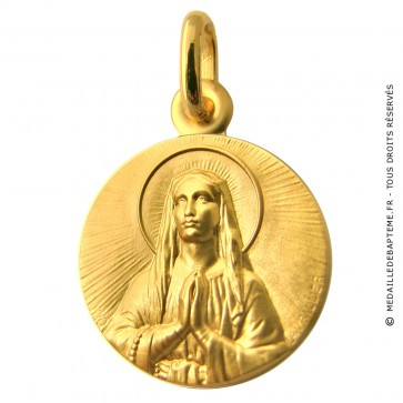 Médaille Immaculée Conception (Or Jaune)